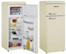 Schneider A++ Kühlgefrierkombination Retro Kühlschrank Creme Eierschalen weiß