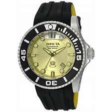 Invicta Men's 'Pro Diver' Automatic Stainless Steel and Silicone Watch 22990