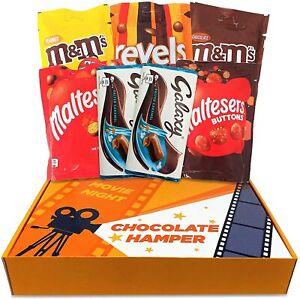 Mars Movie Night Chocolate Hamper Gift Box - Home Cinema Night In Chocolate