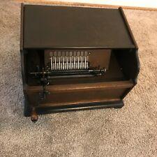 Antique Roller Organ Music Box