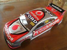 1:10 RC Clear Lexan Body Ford Falcon Vodafone 888 200mm Nitro or Electric