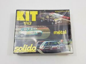 SOLIDO KIT 1/43 RENAULT 5 COUPE