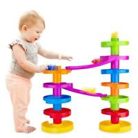Ball Drop 2 Sets of Swirl Ramp Educational Family Fun for Baby and Toddler