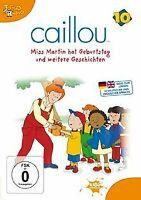 Caillou 10 - Miss Martin hat Geburtstag und weitere Gesch... | DVD | Zustand gut
