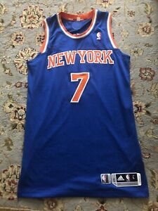 Carmelo Anthony 2013-14 New York Knicks Game Issued Jersey. L+2. Game Worn