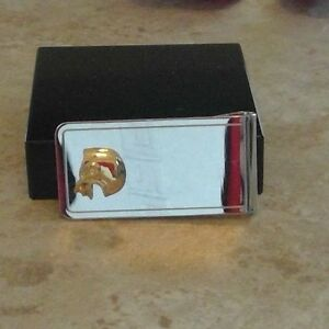 Colibri Men's   football money clip unbranded  NEW IN BOX