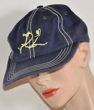 POLO RALPH LAUREN HAT Navy Cotton Vtg-Look Adjustible White Stitching  Men/Women
