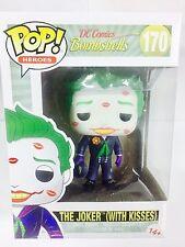 FUNKO POP HEROES DC COMICS BOMBSHELLS THE JOKER WITH KISSES VINYL FIGURE 10cm