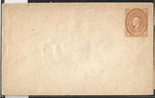 J) 1883 MEXICO, HIDALGO, 10 CENTS ORANGE, POSTAL STATIONARY