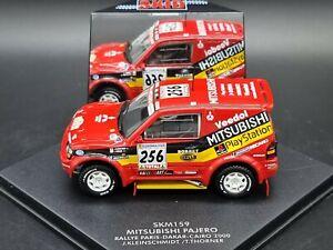 Vitesse Paris-Dakar Rallye Car Mitsubishi Pajero SWB 1:43 Scale Diecast Model