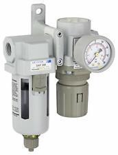 Pneumaticplus Compressed Air Filter Regulator 38 Npt Sau320 N03g R