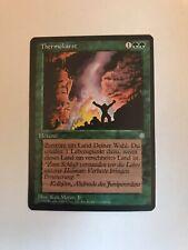 1995 Magic The Gathering MTG Ice Age German Thermokarst U G (Steelfox7)