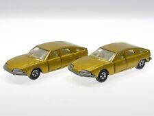 Matchbox 1:87 2 Stück BMC 1800 Pininfarina met.-gold  No. 56