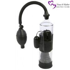 Penis Pump Enlarger Lust Buster Vibrating Vacuum Pump 7.5 Inches Diameter