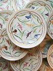 JAMES GREEN & NEPHEW - Porcelain Dessert Service with Butterflies - Circa 1870