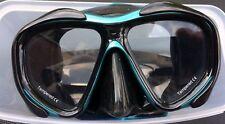 """Tauchmaske Taucherbrille 2-Glas """"ART"""" schwarz-patrol POLARIS"""