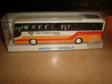 Rietze #62313 HO 1/87 SETRA bus Post & Telekom Austria        MIB (50/014)