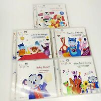 Disney Baby Einstein Sing And Play Music Collection 5 CD Set Home School 6+