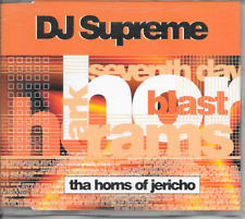 DJ SUPREME - Tha horns of Jericho CDM 8TR Speed garage Hard House 1998 Holland