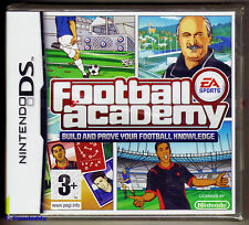 Nintendo DS EA Sports Football Academy (2009), Brand New & Factory Sealed