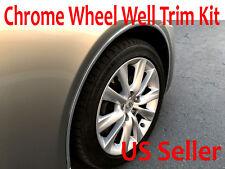 For Chrysler 2002-2018 Models - Set of 4 Chrome Fender Wheel Well Trim Molding