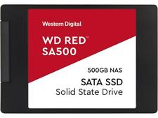 "Western Digital Red SA500 2.5"" 500GB SATA III 3D NAND Internal Solid State Drive"