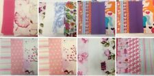"""FABRIC CHARM PACK SQUARES 5"""" PINK THEMES variety material x 10 x 30 pieces"""