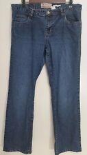 Old Navy 14 Jeans Bootcut Ultra Low Waist Stretch Medium Cotton Blend Denim