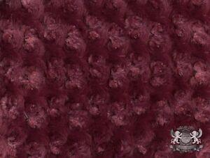 "Minky Rosebud Fabrics / 58"" Wide / Sold by the Yard"