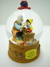 Your the Real Dad Pinnochio Miniature Snow Dome / Water Globe Disney