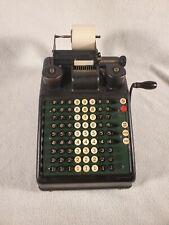 Vintage Burrough's Portable Adding Machine Great Collection Piece