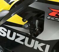 R&G White Crash Protectors - Aero Style for Suzuki GSX-R750 2005 K5