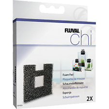 Fluval Chi Foam Pad Replacement 2pack Aquarium Fish Tank