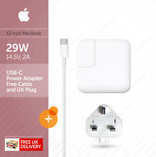 "Apple 29W USB-C Power Adapter (Charger) and Cable for Macbook 12"" :: A1540"