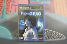 Project Zero 1 Survival horror de Tecmo para la Sony PS2 usado completo