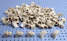 Lego Tan 1x2x1.33 Brick with Curved Top (6091) x10 *BRAND NEW* City Star Wars