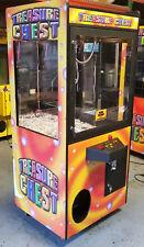 Treasure Chest Claw Crane Plush Stuffed Animal Arcade Machine Orange Decal #4