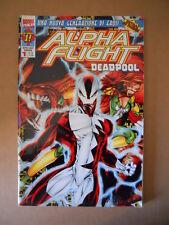 Alpha Flight & Deadpool n°1 1998 Marvel Italia  [G694]