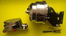 1967-1972 Chevrolet c10 truck chrome power brake booster and master cylinder