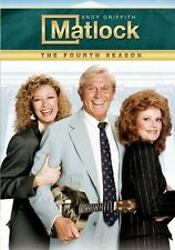Matlock: The Fourth Season [6 Discs] DVD Region 1