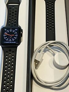 Apple Watch Series 3 Nike+ 42mm Space Gray Excellent Condition Original Box
