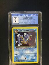 dark gyarados Team Rocket Unlimited 4/82 cgc 8