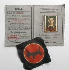 More details for ww2 german stuka pilot's document and insignia