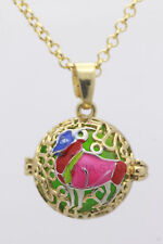 Harmony Ball Pendant Lockets Essential Oil Perfume Diffuser Necklace Aries