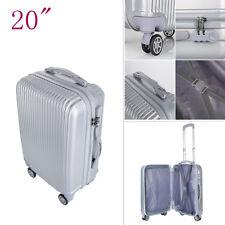 CLEARANCE Hard Shell Suitcase Lightweight Cabin Trolley Travel Case 4 Wheels UK