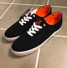 Polo Ralph Lauren CP93 Summer 92 Canvas Boat Shoes Size 11.5 Men's Blue Orange