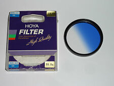 Hoya  Gradual Color blau  Verlaufsfilter    55mm