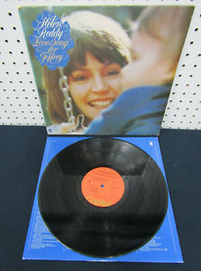 Love Song For Jeffrey by Helen Reddy (1974 Vinyl LP Gate Fold Cover)