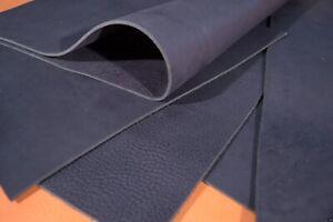 Büffelleder Schwarz Dickleder Sattlerleder 3,0-3,8 mm