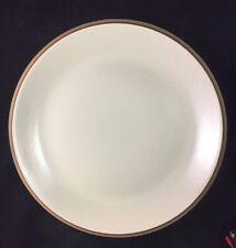 "Dansk Stoneware SANTIAGO CELADON Pale Green / Brown 12 1/8"" Chop Plate"